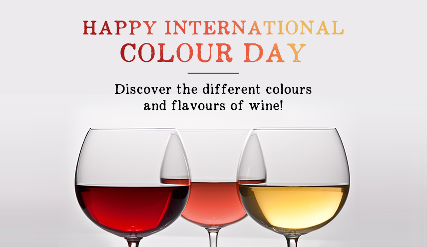 International Colour Day: The Colours of Wine