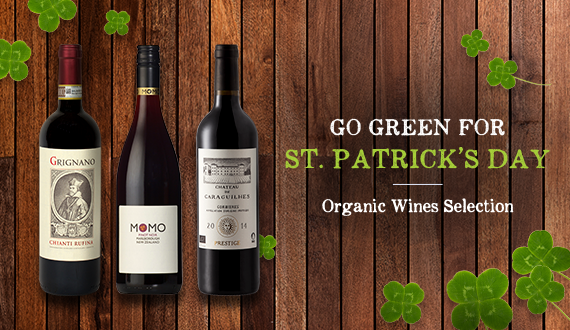 Go Green for St. Patrick's Day!